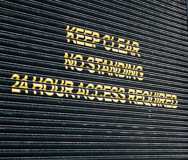 sorveglianza accessi